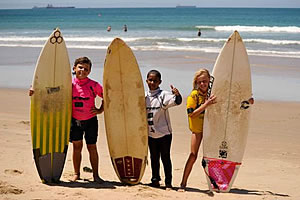 Learn to Surf in Mossel Bay